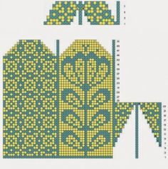 Loom Crochet, Crochet Mittens Free Pattern, Fair Isle Knitting Patterns, Bead Crochet Rope, Knit Mittens, Knitting Charts, Knitted Gloves, Knitting Stitches, Knitting Socks