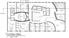 Day Spa locker rooms | Day Spa Project, Newbury Street, Boston, MA on Behance