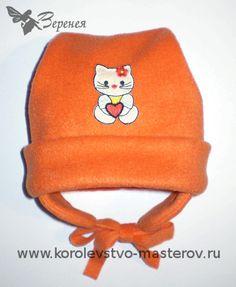 Как сшить шапочку ребенку: Осенняя детская шапочка из флиса