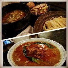 早めの#晩ご飯 #三ツ矢堂製麺 #丸得つけ麺#タンタン麺 #mitsuyadoseimen#tsukemen#tantanmen#ラーメン#つけ麺#ramen#yummy#food#japanese#philippines#フィリピン