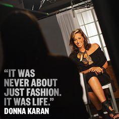 WATCH Donna Karan's life story: aol.it/1asK6p9