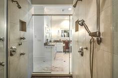 two sided dual shower