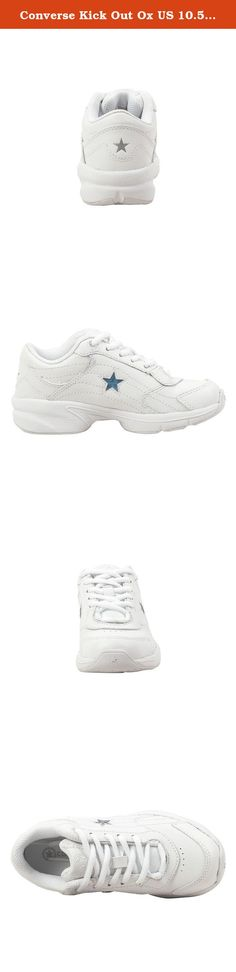 Converse Kick Out Ox US 10.5 Youth (White/White).