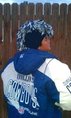 Dallas Cowboys Mohawk!!!!