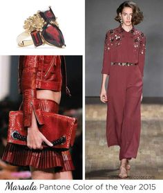 Marsala has been named as the Color of Year for 2015!