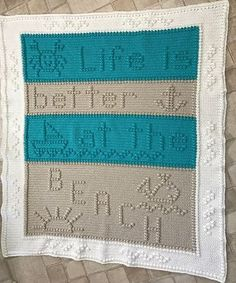 Ravelry: Life at the Beach pattern by Glee Brown Workman