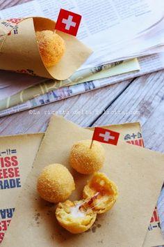 La ricetta della felicità: Arancinette di polenta con Gruyère e 'Nduja per Swiss Cheese Parade