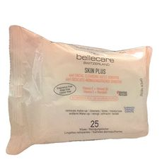 Bellecare Skin Plus Vitamin E + Almond Facial Wipes Makeup Remover, Vitamin E, Almond, Facial, Image Link, Note, Amazon, Check, Make Up Remover