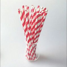 Red and white stripe paper party straws are a must have for your holiday parties! Shop link in bio. #jaclynpetersdesigns #holiday #holidayparty #christmas #straws #cakepops  #holidaydecor  #partystraws #partydetails #christmasparty #red #stripes #christmaseve  #paperstraws #holidays #partyplanning #partysupplies #instalike #instafollow #instaholiday  #shoponline  #holidayshopping by jaclynpetersdesigns