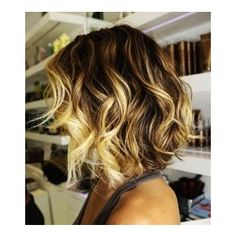 Curly Ombre Hair Extensions Brown To Blonde Ombre Hair Exten ...