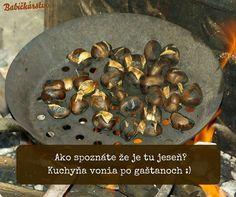 Gaštany a varené vinko, čo viac si priať :)