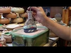 How to make Sand portraits in a bottle - YouTube