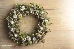Wreath 7|プリズムの森 La foret de Prisme ー*。 Cafe Rustique et Naturel 。*ー