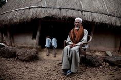 The imam of Horé Dimma village, Fouta Djallon Highlands of Guinea-Conakry © Jason Florio