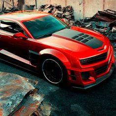 Chevy Camaro ZL1 ! stunning red!