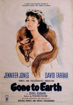 Gone to Earth (1950) Directed, Produced and Written by #MichaelPowell #EmericPressburger Starring #JenniferJones #DavidFarrar #CyrilCusack #GonetoEarth #Hollywood #hollywood #picture #video #film #movie #cinema #epic #story #cine #films #theater #filming #movies #moviemaking #movieposter #movielover #movieworld #movielovers #movienews #movieclips #moviemakers #drama #filmmaking #cinematography #filmmaker #screen #screenplay
