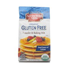 Organic Gluten Free Pancake & Baking Mix www.theteelieblog.com Gluten-free doesn't have to mean flavor-free when you have Arrowhead Mills' Organic Pancake and Baking Mix stocked in your pantry. Enjoy pancakes hot off the griddle or yummy muffins baked-to-perfection straight from your oven with this gluten-free must-have. #thrivemarket