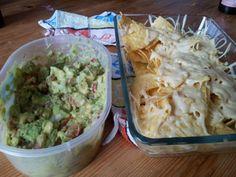 tortillachips met verse guacamoledip