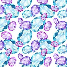 diamonds patterns by Natalia Tyulkina, via Behance