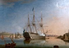 HMS San Josef - captained by my great great great grandfather in 1813-1814