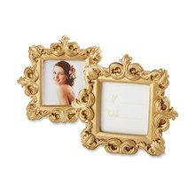 """Kate Aspen® """"Royale"""" Gold Baroque Place Card/Photo Holder, 12 Pack"""