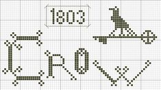 https://flic.kr/p/caSaSA | ~*Crow Freebie*~ | 77 by 41 stitches © primitivebettys 2010