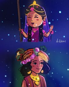 A layer was hidden god idk y I am like this 🤕 anyway . posting it again 😋 . I loved this scene . Lord Krishna Images, Radha Krishna Pictures, Radha Krishna Photo, Krishna Photos, Krishna Art, Radhe Krishna, Little Krishna, Cute Krishna, Hare Rama Hare Krishna