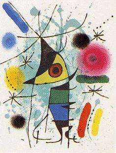 The Singing Fish, by Joan Miró Miro Artist, Singing Fish, Joan Miro Paintings, Automatic Drawing, Elements Of Art, Famous Art, Abstract Art, Modern Art, Art Prints
