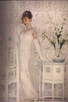 Audrey for Harpers Bazaar 1964