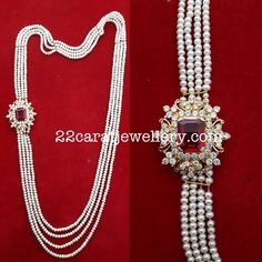 Pearls Multi Haram with Side Motif