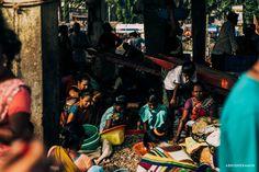 Abhishek Amin photographs fish vendors cleaning fish