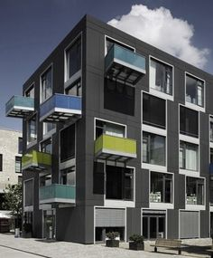 EQUITONE facade materials. housing in Bremen. www.equitone.com