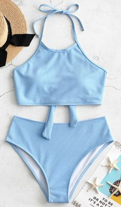 Style Fashion Swimwear Type Tankini Gender For Women Material Polyester,Spandex Bra Style Padded Support Type Wire Free Collarline High Collar - # Retro One Piece Swimsuits, Bathing Suits One Piece, Girls Bathing Suits, Cute Juniors Swimsuits, Women Swimsuits, Swimwear Uk, Retro Swimwear, Blue Swimsuit, Blue Tankini
