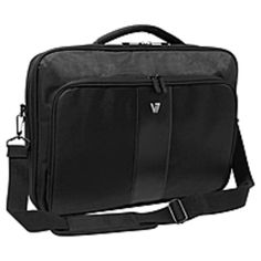 V7 Professional CCP22-9N 17-inch Carrying Case for 16.1-inch Notebook, Tablet, Smartphone, Business Card, Pen, Key - Weather Resistant Interior, Moisture Resistant Handle - Nylon - Handle