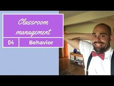 Classroom management: Behavior - YouTube