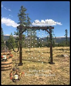 Wedding Arch Arbor Rustic Complete Kit Country Arches