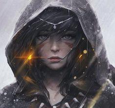 El Nemezis Anime Art Girl, Manga Art, Anime Girls, Beauty Illustration, Digital Illustration, Anime Fantasy, Fantasy Girl, Fantasy Sketch, Character Inspiration Fantasy