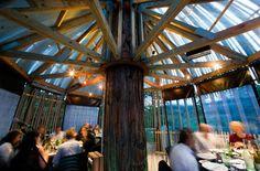 Redwoods Treehouse restaurant, Auckland, New Zealand