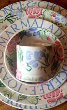 Emma Bridgewater Cambridge Blue and Blossom