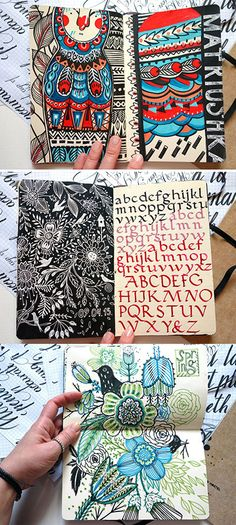 Just some pages from my sketchbooks)