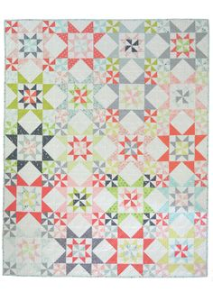 She Quilts Alot — Down South PDF Pattern