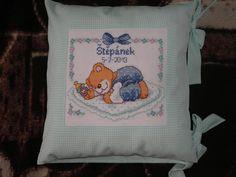 Vyšívaný polštářek - pillow Onesies, Kids, Baby, Handmade, Clothes, Young Children, Outfits, Boys, Hand Made