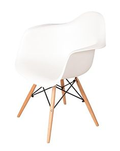VentaMuebles - Sillon tower wood blanco - http://vivahogar.net/oferta/ventamuebles-sillon-tower-wood-blanco/ -