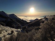 Sassotetto - Ski resort Maddalena Sarnano Macerata, Marche, Great resort with new restaurants, snow cannons, lifts & snowpark in Marche central Italy