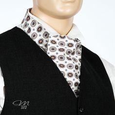 Krawattenschal Ornamente Classic - Manufaktur 512 - Einzigartige #Accessoires in #Handarbeit. +++ #Krawattenschal #fashion #handmade #manufaktur
