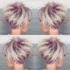 "Hot on Beauty on Instagram: ""Celebrating short hair with a shadow of deep pink by @alexisbutterflyloft Gorgeous design Alexis  #hotonbeauty #featurepage #beautymag #iamavisualartist Hot Beauty Magazine"""