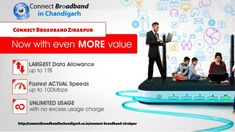 Connect broadband Zirakpur gives you high-speed internet plans in your area. We offer Internet Leased Line with a connect broadband connection in Zirakpur. Connect Broadband, Internet Plans, Data Plan, Latest Technology, For Everyone, Connection, How To Plan