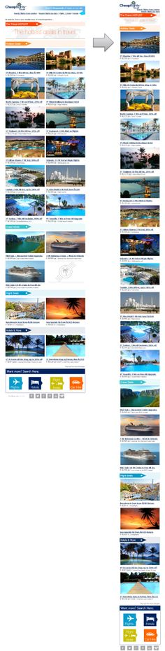 Responsive Email Design from Cheapflights.co.uk