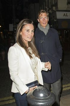 Pippa Middleton Parties boyfriend Nico Jackson at LouLou's Club in Mayfair, London
