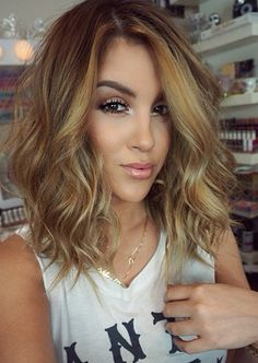 If I were to ever consider anything besides brunette, this would be it. Warm caramel.
